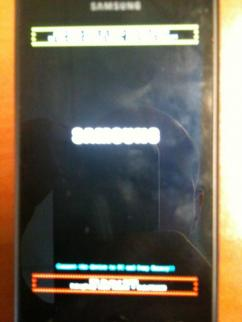 Arm9 Fatal error or Force RAM Dump mode - Samsung Omnia 7