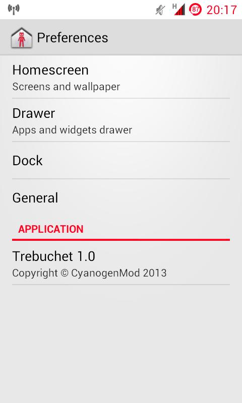 [Launcher] Trebuchet 1.0 from CM10.1 modded for 4.1