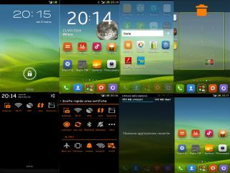 Theme]Mod Original Huawei Theme  hwt - Huawei Ascend G510 / Orange