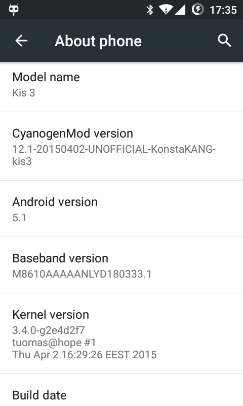 DEV][ROM][24 4 ] CyanogenMod 12 1 (Android 5 1 1) for ZTE Open C