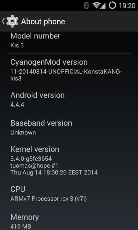 DEV][ROM][17 11 ] CyanogenMod 11 (Android 4 4 4) for ZTE Open C