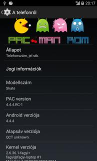 DEV][ROM][4 4 4] PAC-man | 2014 09 14  | Discontinued - ZTE Skate