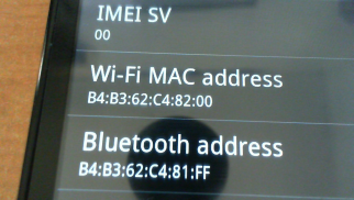 Tutorial - Get your MAC Address if you already unlocked - NOW UP