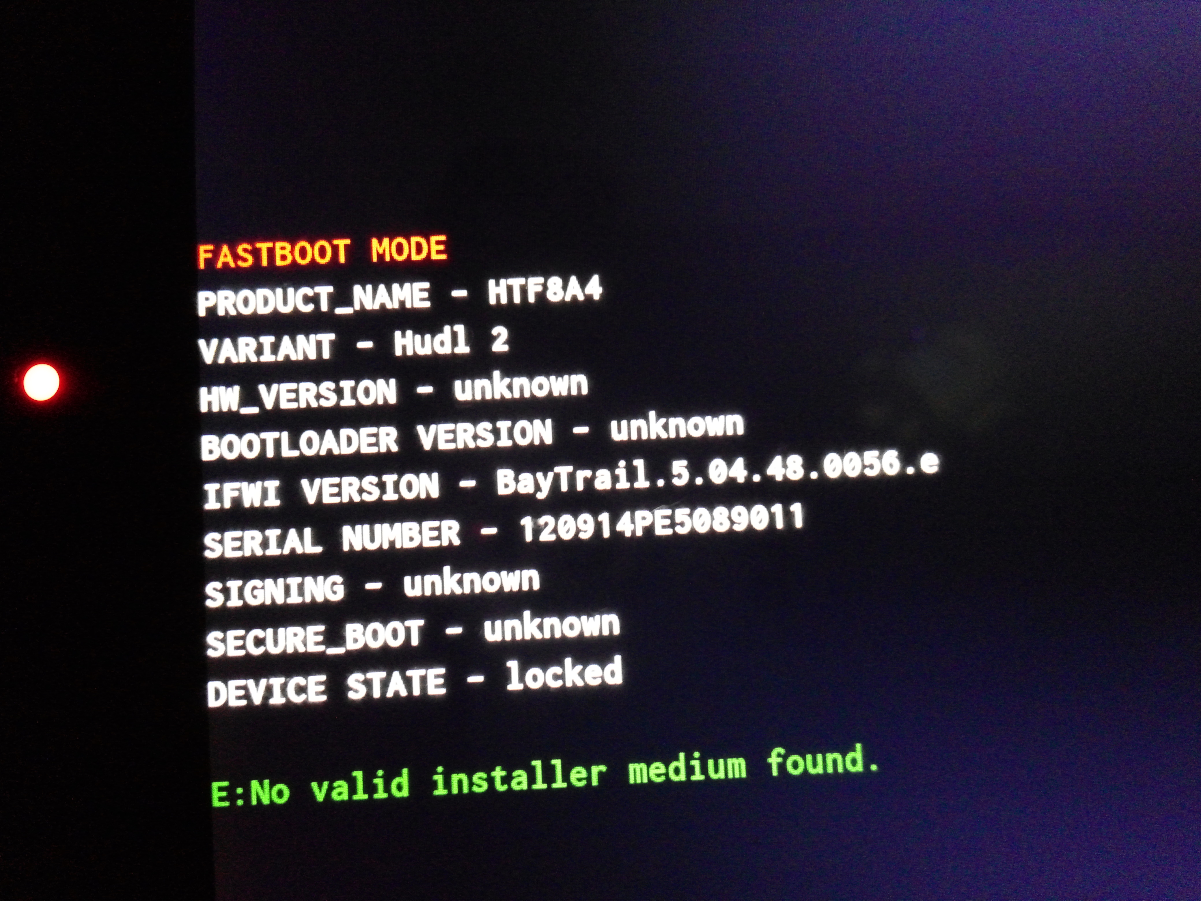 Getting into ADB to recover from bootloop? - Tesco Hudl 2