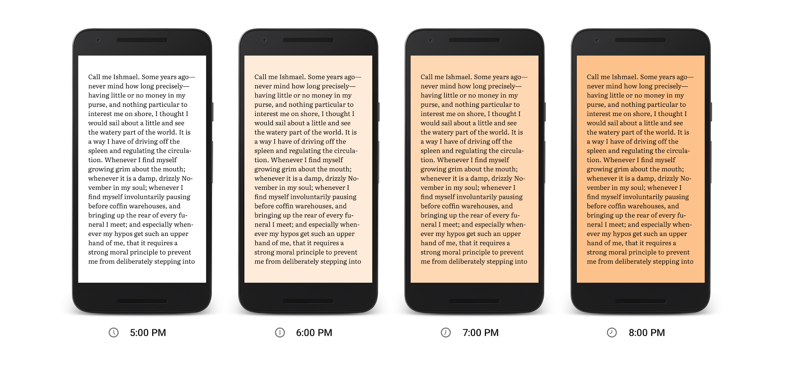 Google Play Books adds a night reading mode (but we want a dedicated