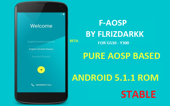 ROM) (5 1 1) (STABLE) F-AOSP BETA 10 (18 06 2016) - Huawei Ascend