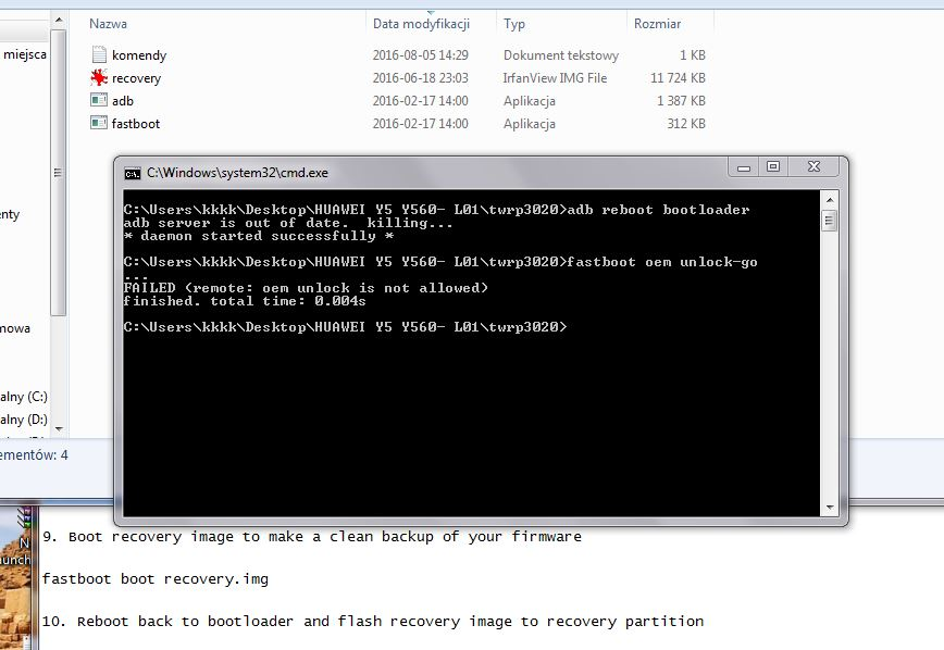 Recovery] TWRP 3 0 2-0 for Huawei Y5 - General Huawei